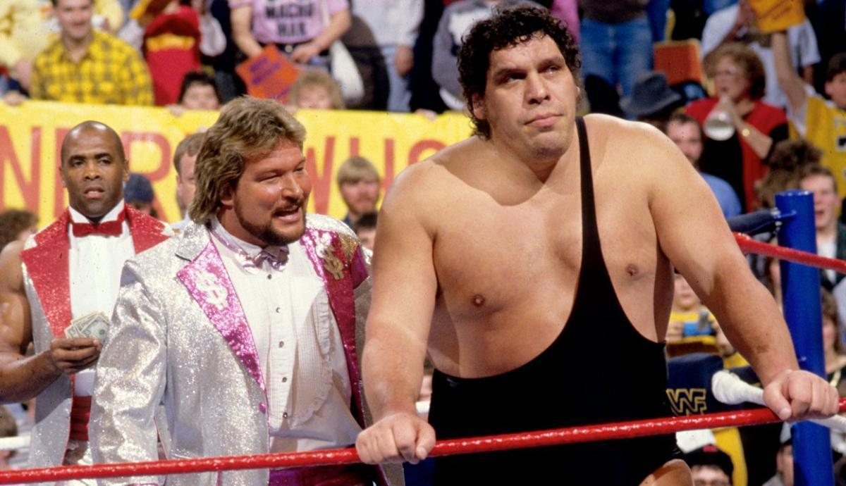 Ted Dibiase The Million Dollar Man and Andre the Giant